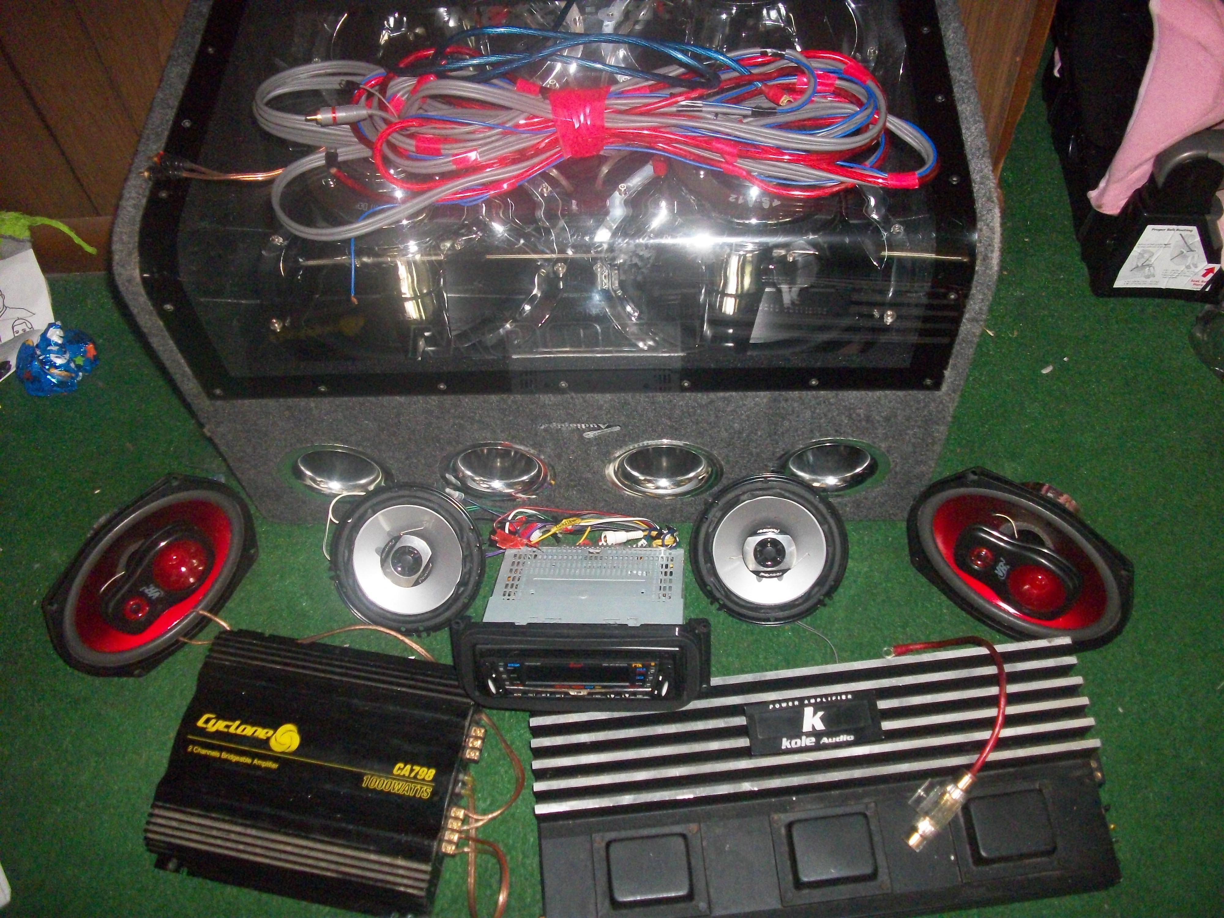 Cheap car audio systems