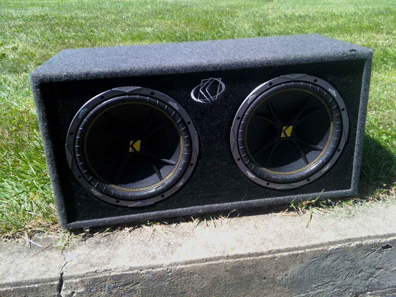 2 12inch Kicker Subwoofers In Box