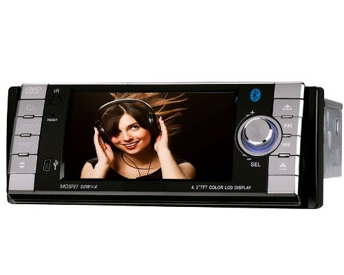 1 din car stereo with gps 4 3 inch. Black Bedroom Furniture Sets. Home Design Ideas