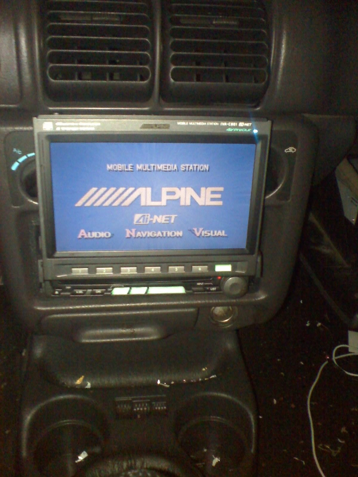 Alpine Car Stereo Dvd Player The Iva Multimedia Center Indash 1200x1600