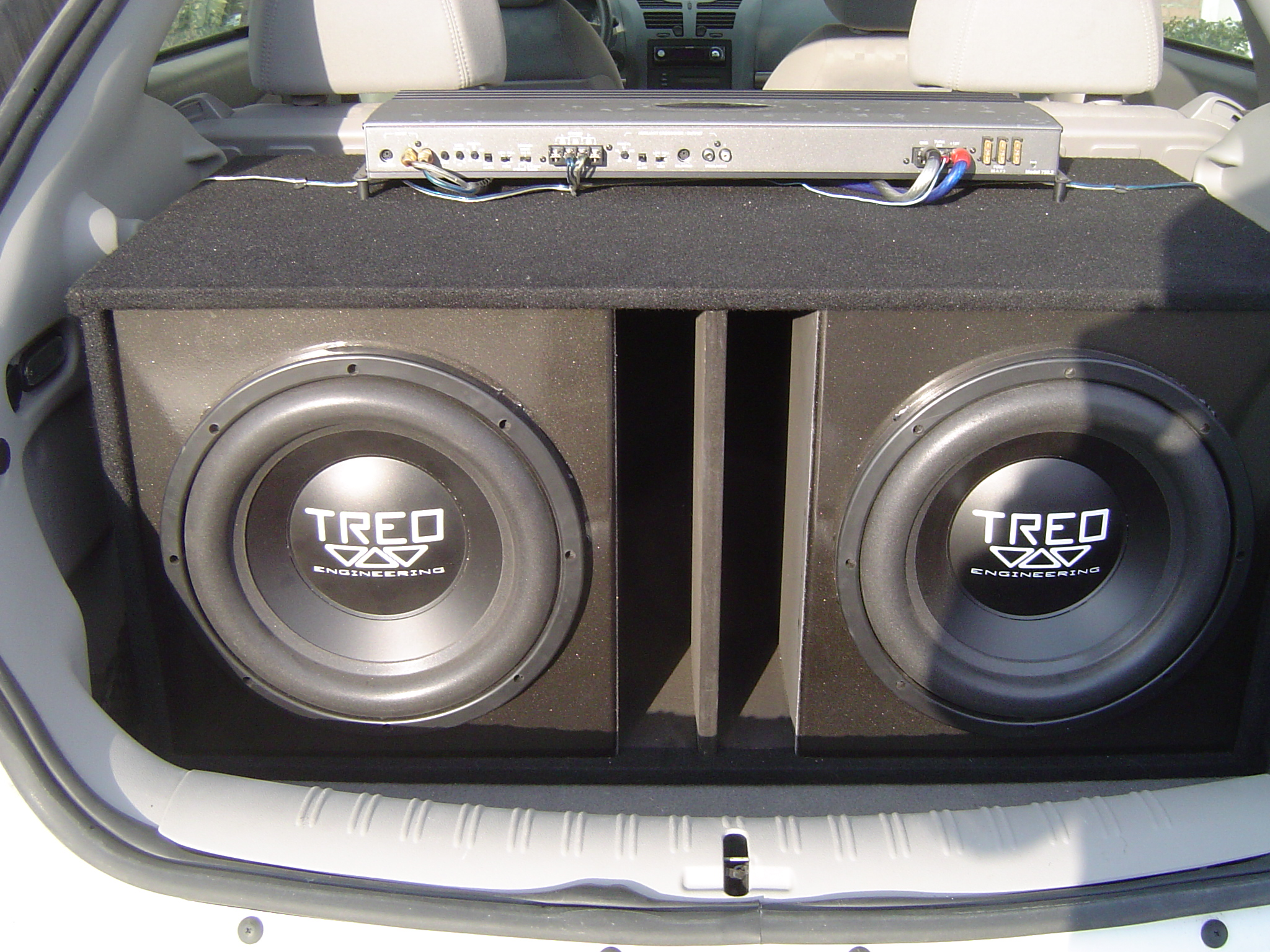 Car subs and amps for sale