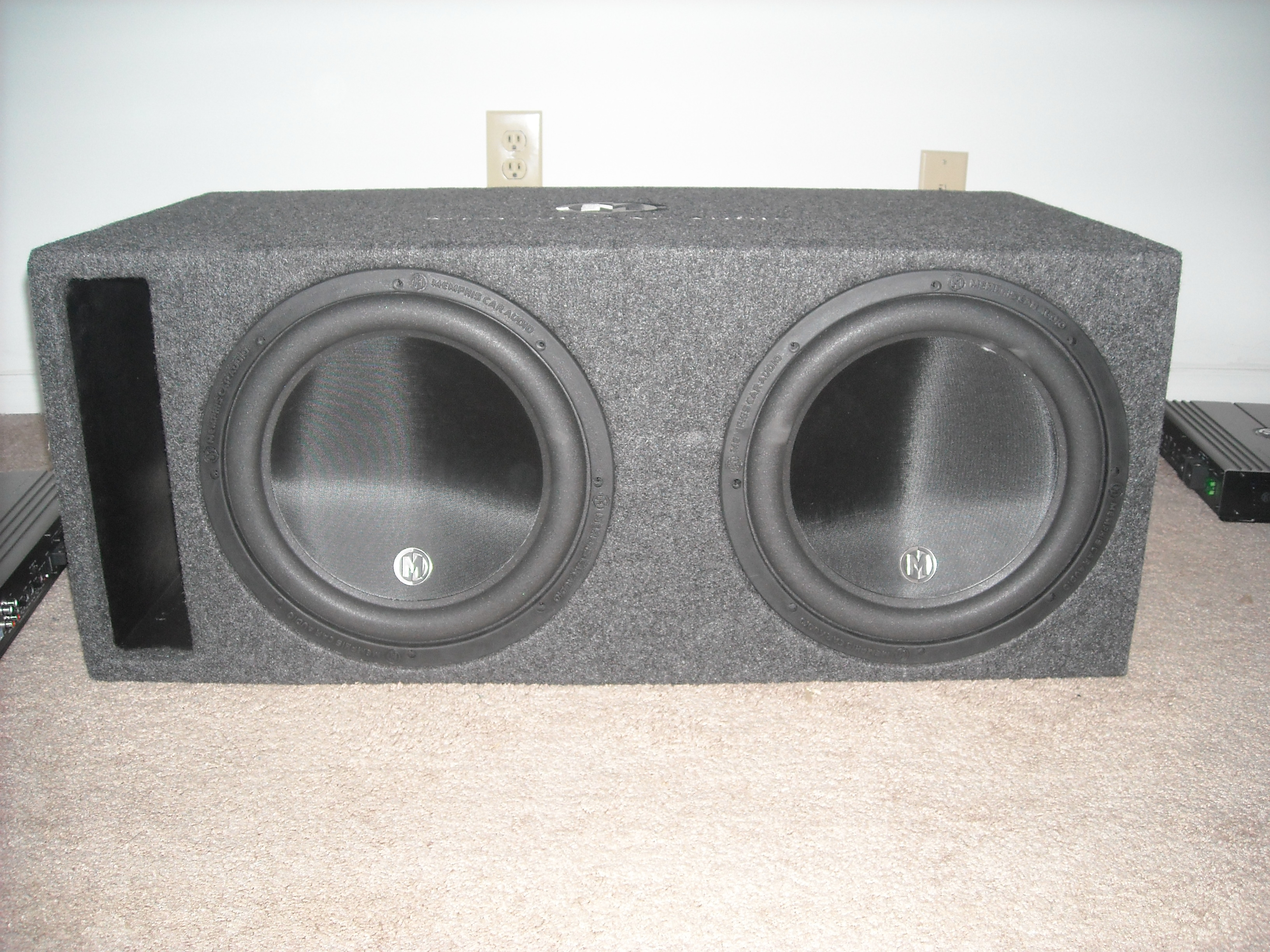 Memphis Mojo 12 Subwoofer Car Speakers Audio System