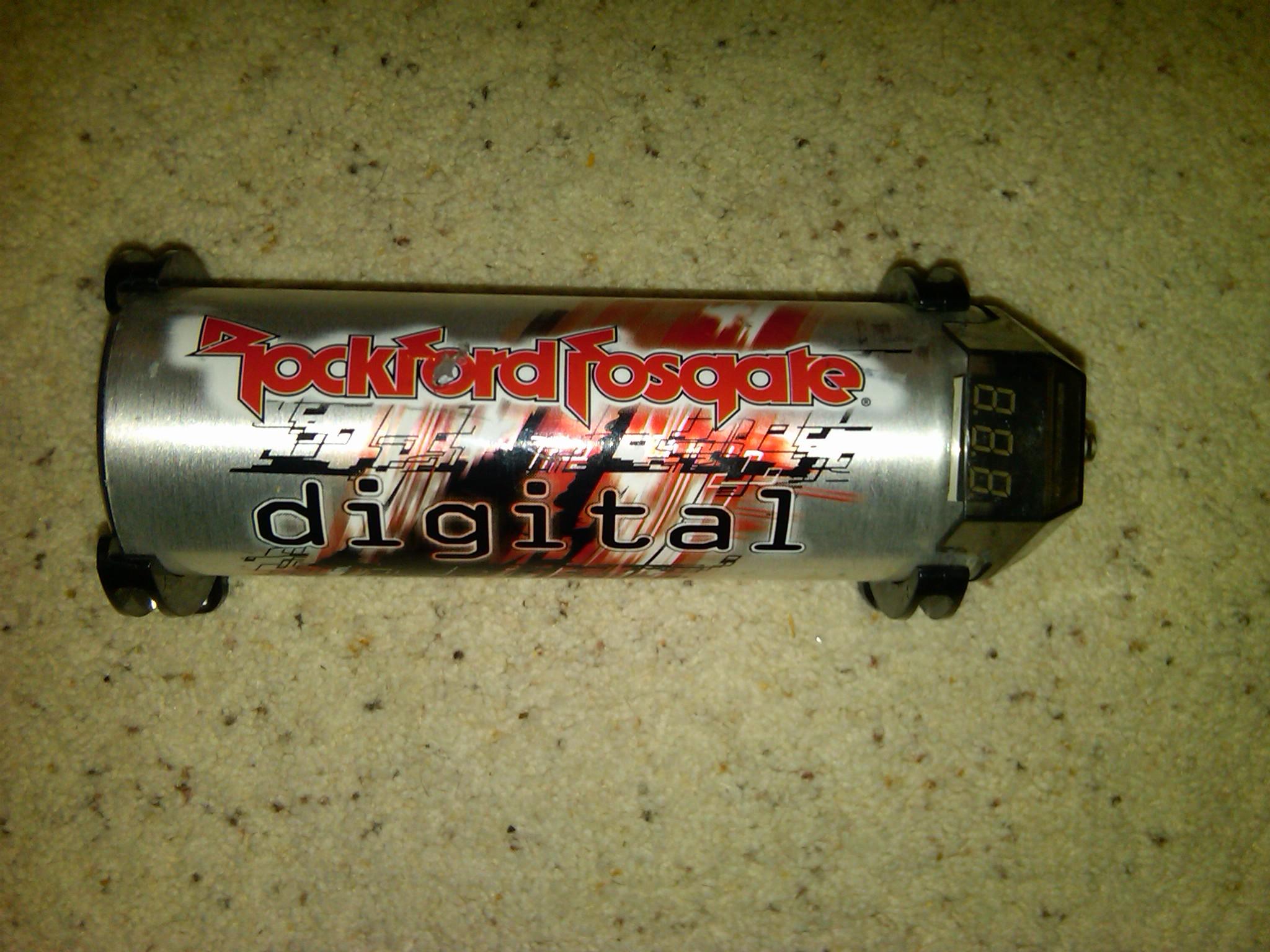 Rockford-Fosgate Power 1-Farad Digital Capacitor