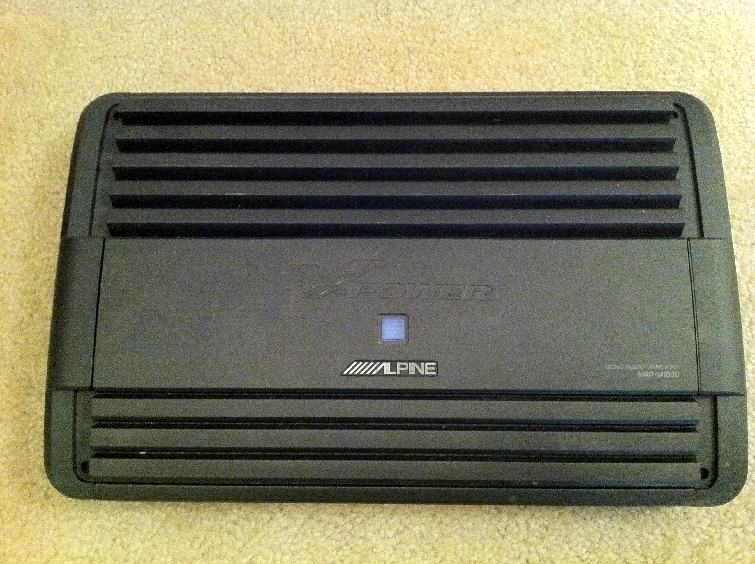 Alpine, Amplifiers
