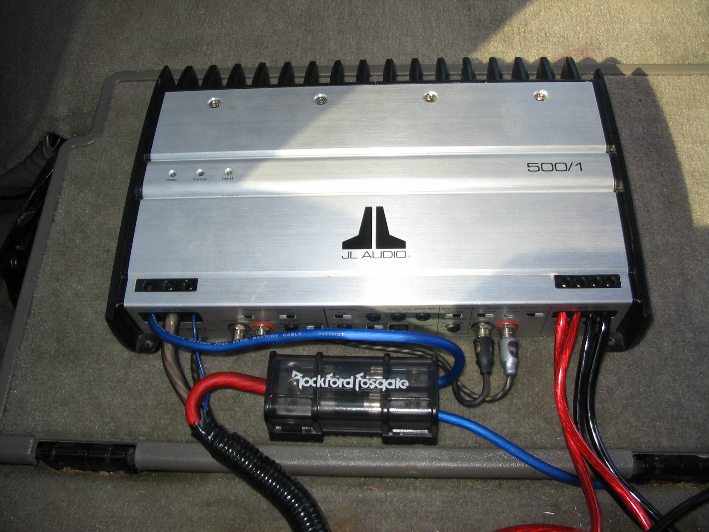 Jl Audio Amp Wiring Kit Library Rockford Fosgate Amplifiers