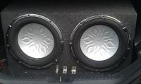 Audiobahn, Enclosure (Box with subs)