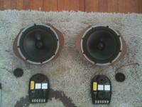 JL Audio, ComponentSpeakers