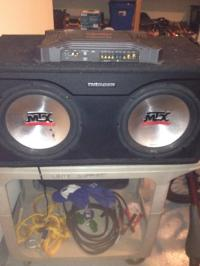 MTX Audio, Subwoofers