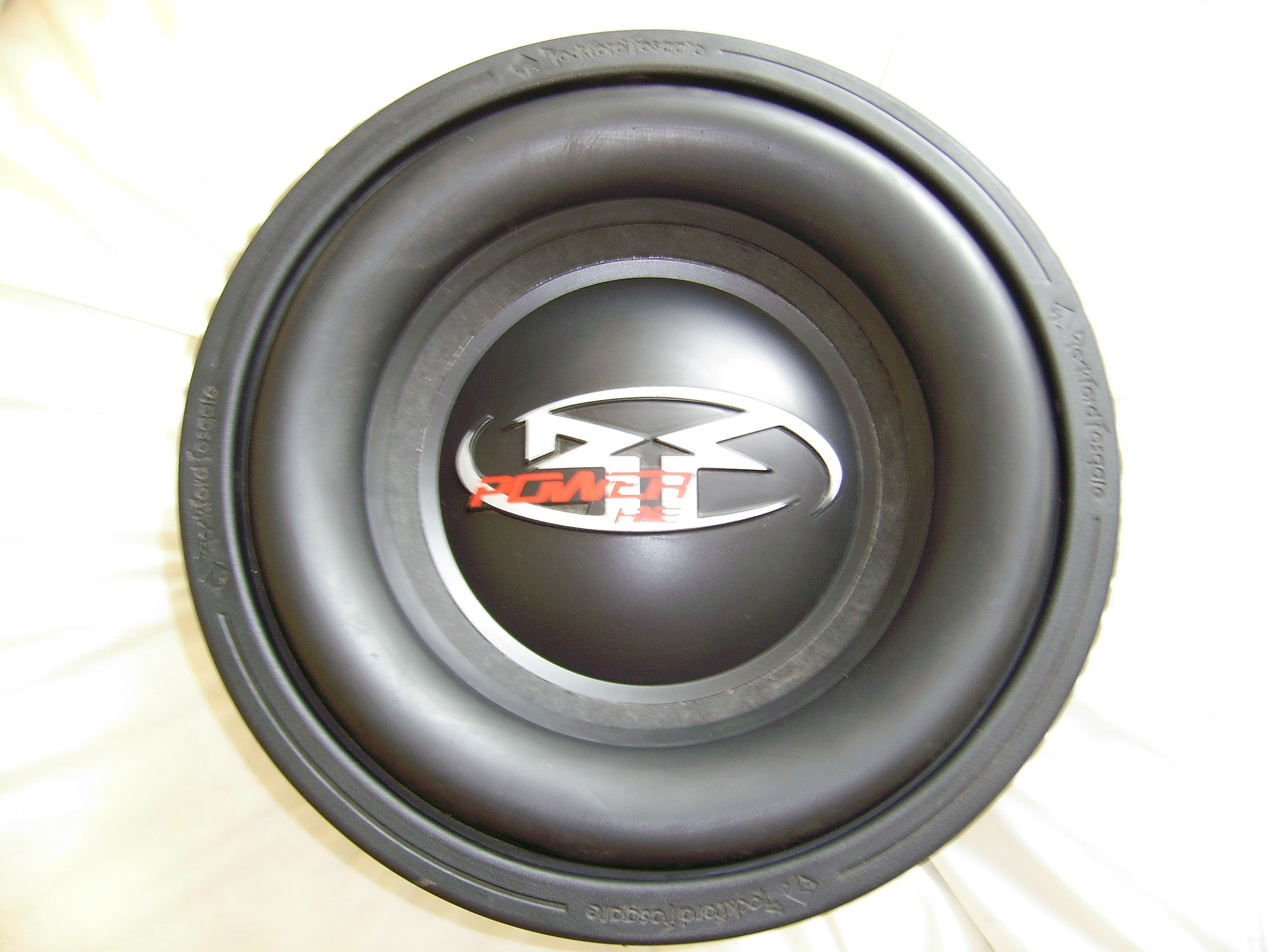 "ROCKFORD FOSGATE * POWER * HX2 12"" COMPETITION SUBS $500.00"