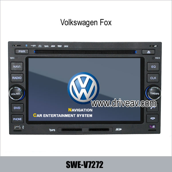 vw volkswagen fox radio dvd player gps navi ipod rearview. Black Bedroom Furniture Sets. Home Design Ideas