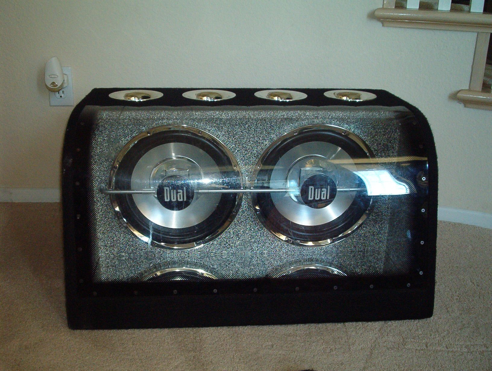2 12 Quot Dual Subs In Ported Box