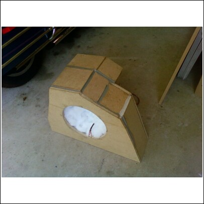 Ford Focus Subwoofer Box 35$ OBO