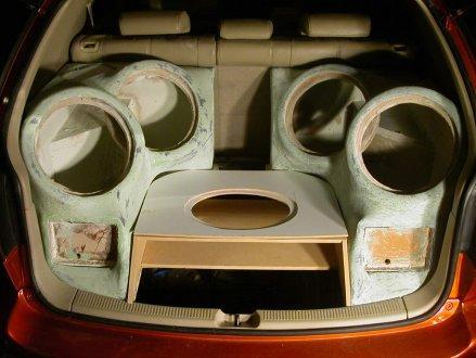 نظام صوتى من  JL Aduioفى سيارة ليجزاس 725