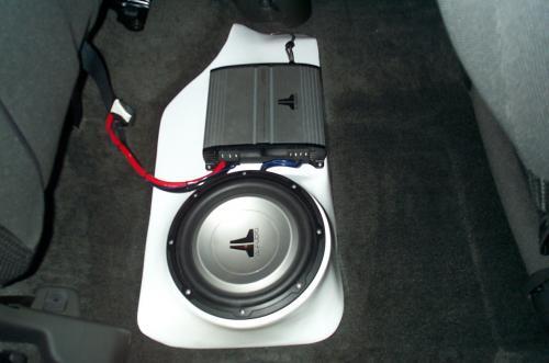 2005 nissan frontier crew cab car audio install