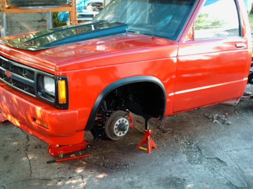 1987 Chevrolet S10 Car Audio Install