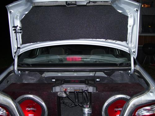 mazda car audio install