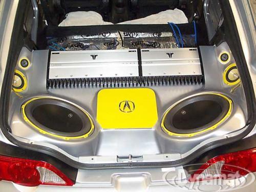 2003 acura rsx car audio install