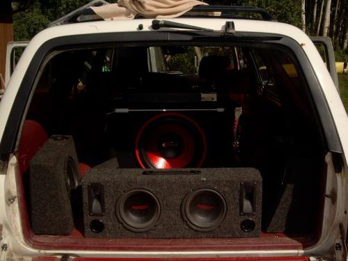 1990 Toyota 4Runner Car Audio Install
