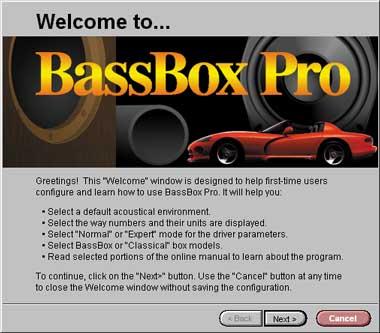 Car Audio Bassbox Pro Box Design Software