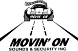 MOVIN'ON SOUNDS AND SECURITY INC. Logo
